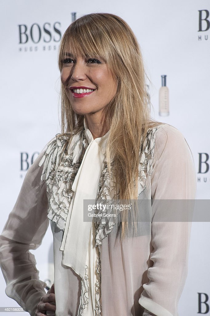 Raquel Merono attends 'Boss Bottled' 15th Anniversary at the Eurostars Hotel on November 26 2013 in Madrid Spain