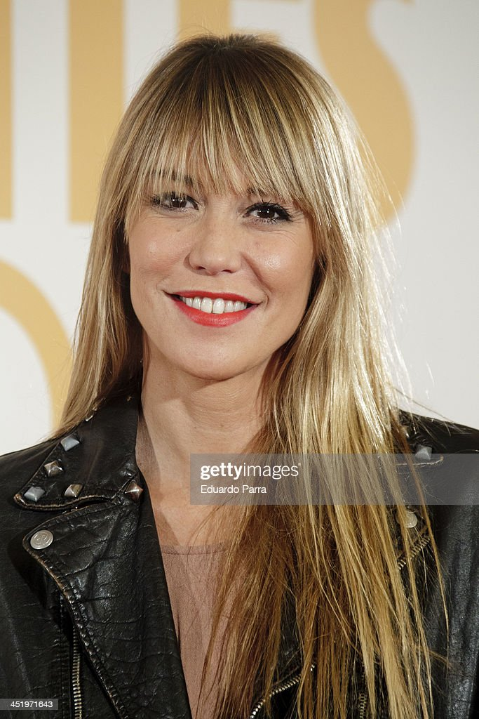 Raquel Merono attends 'Diamantes Negros' premiere at Palafox cinema on November 25 2013 in Madrid Spain