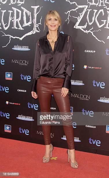 Raquel Merono attends 'Las brujas de Zugarramurdi' premiere photocall at Kinepolis Cinema on September 26 2013 in Madrid Spain