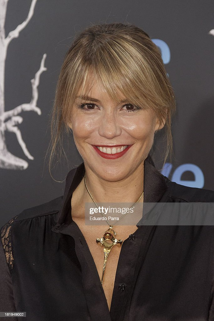 Raquel Merono attends 'Las brujas de Zugarramurdi' premiere photocall at Kinepolis Cinema on September 26 2013 in Madrid Spain