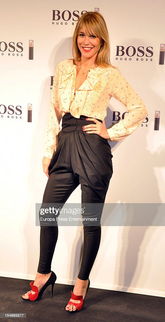 Raquel Merono attends the launch of 'Boss Nuit Pour Femme' fragrance on October 29, 2012 in Madrid, Spain.