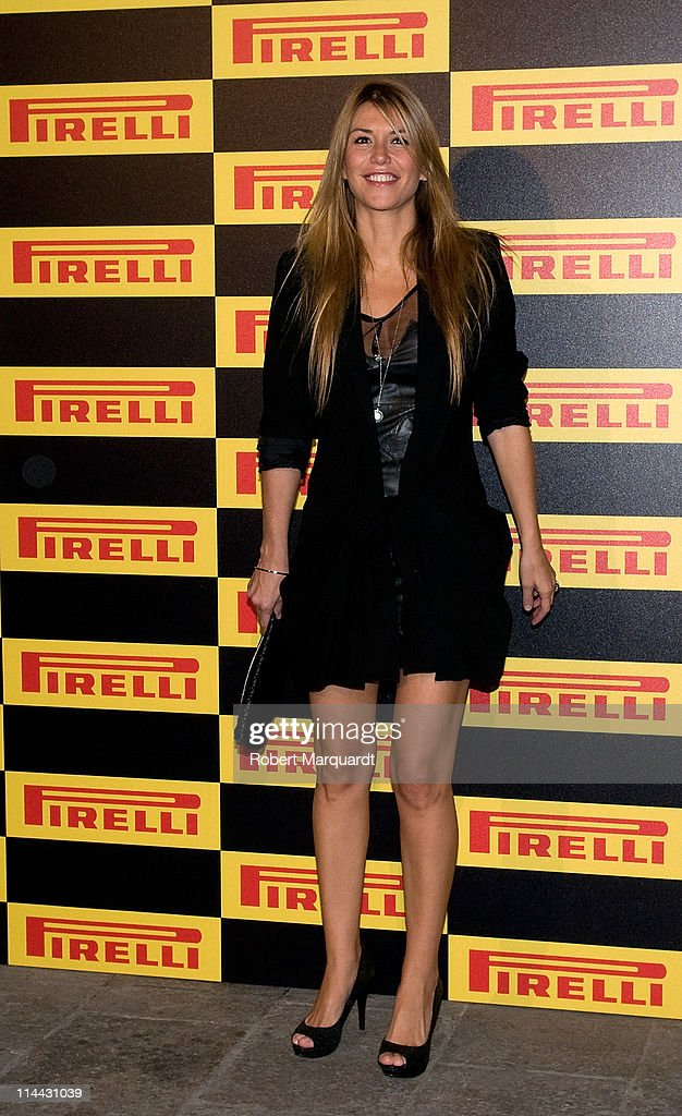 Raquel Merono attends the photocall for the 'Welcome to Formula 1' cocktail by Pirelli on May 19 2011 in Barcelona Spain