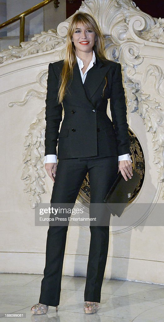 Raquel Merono attends the Ralph Lauren Dinner Charity Gala at Casino Madrid on November 14 2013 in Madrid Spain