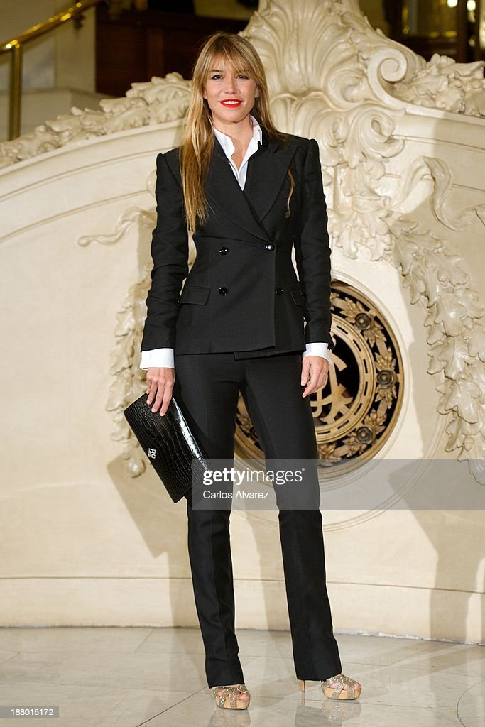 <a gi-track='captionPersonalityLinkClicked' href=/galleries/search?phrase=Raquel+Merono&family=editorial&specificpeople=5599743 ng-click='$event.stopPropagation()'>Raquel Merono</a> attends the Ralph Lauren Dinner Charity Gala at the Casino de Madrid in on November 14, 2013 in Madrid, Spain.