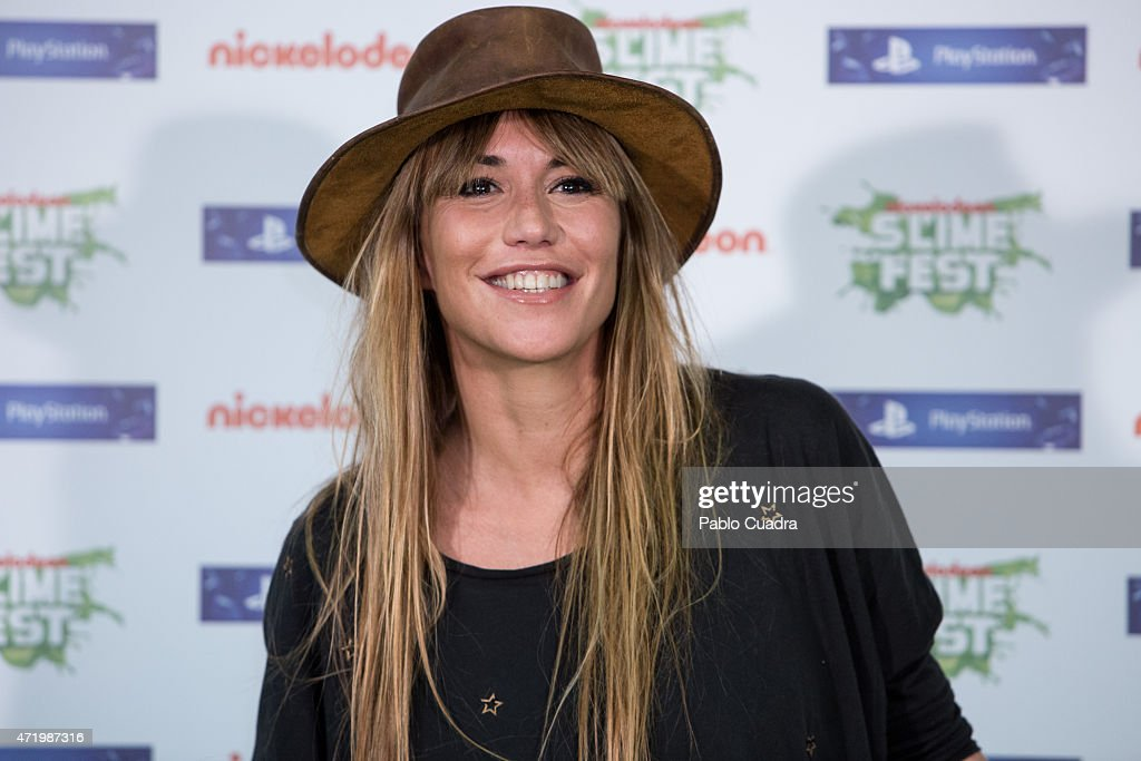 Raquel Merono attends the Slime Festival at the Barclaycard Center on May 2 2015 in Madrid Spain