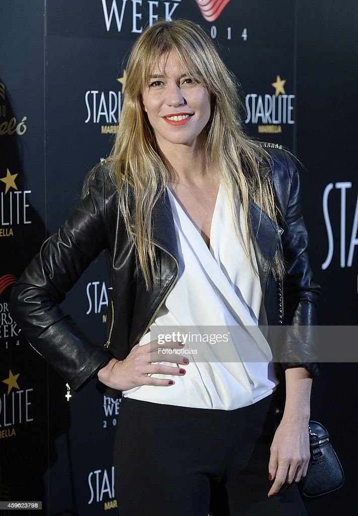 Raquel Merono attends the 'Starlite 2015' presentation at Barcelo Theater on November 26 2014 in Madrid Spain