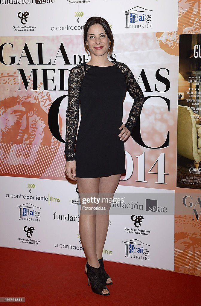 Raquel Quintana attends the 'CEC' medals 2014 ceremony at the Palafox cinema on February 3, 2014 in Madrid, Spain.