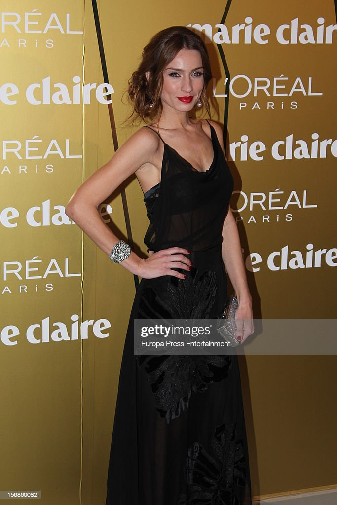 <a gi-track='captionPersonalityLinkClicked' href=/galleries/search?phrase=Raquel+Rodriguez+-+Model&family=editorial&specificpeople=233702 ng-click='$event.stopPropagation()'>Raquel Rodriguez</a> attends Marie Claire Prix de la Moda Awards 2012 on November 22, 2012 in Madrid, Spain.