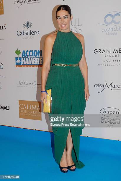 Raquel Rodriguez attends Soul Stars Benefit Gala organized by The Children for Peace ONLUS with Action Against Hunger on July 4 2013 in Marbella Spain