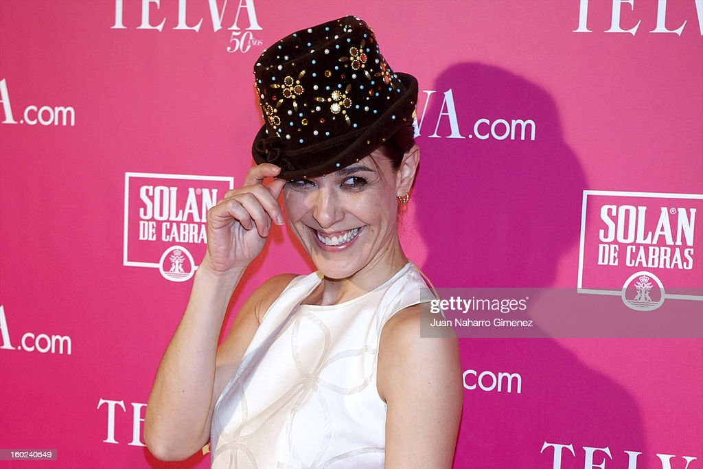 Raquel Sanchez Silva attends 'Beauty T Awards 2013' by Telva at Palace Hotel on January 28, 2013 in Madrid, Spain.