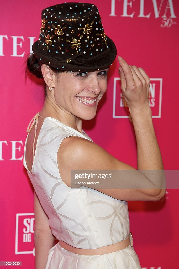 Raquel Sanchez Silva attends 'Beauty T' awards at the Palace Hotel on January 28, 2013 in Madrid, Spain.