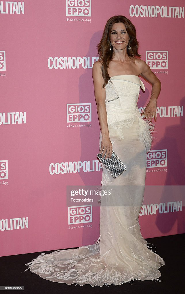 Raquel Sanchez Silva attends Cosmopolitan Fun Fearless Female Awards 2013 at the Ritz Hotel on October 22, 2013 in Madrid, Spain.