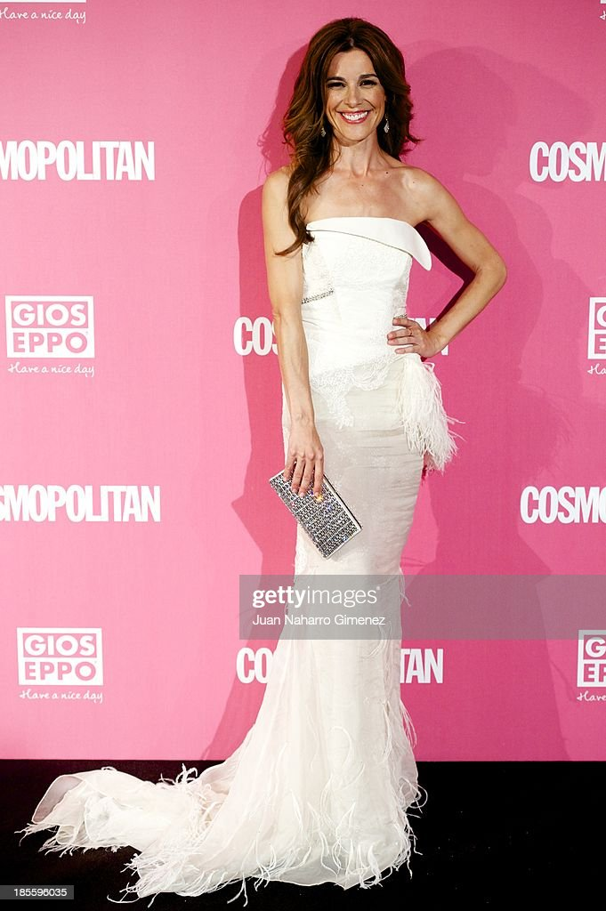Raquel Sanchez Silva attends the Cosmopolitan Fun Fearless Female Awards 2013 at the Ritz Hotel on October 22, 2013 in Madrid, Spain.