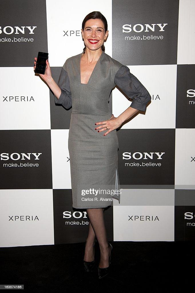 Raquel Sanchez Silva attends the Sony Mobile Gala premiere at the Callao cinema on March 12, 2013 in Madrid, Spain.