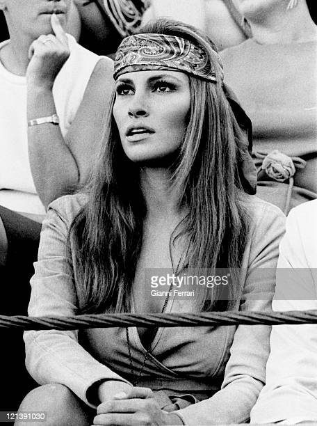 Raquel Welch a bullfight in Almeria Almeria Spain