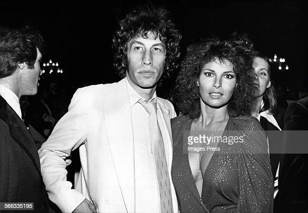 Raquel Welch and Andre Weinfeld circa 1978 in Hollywood California