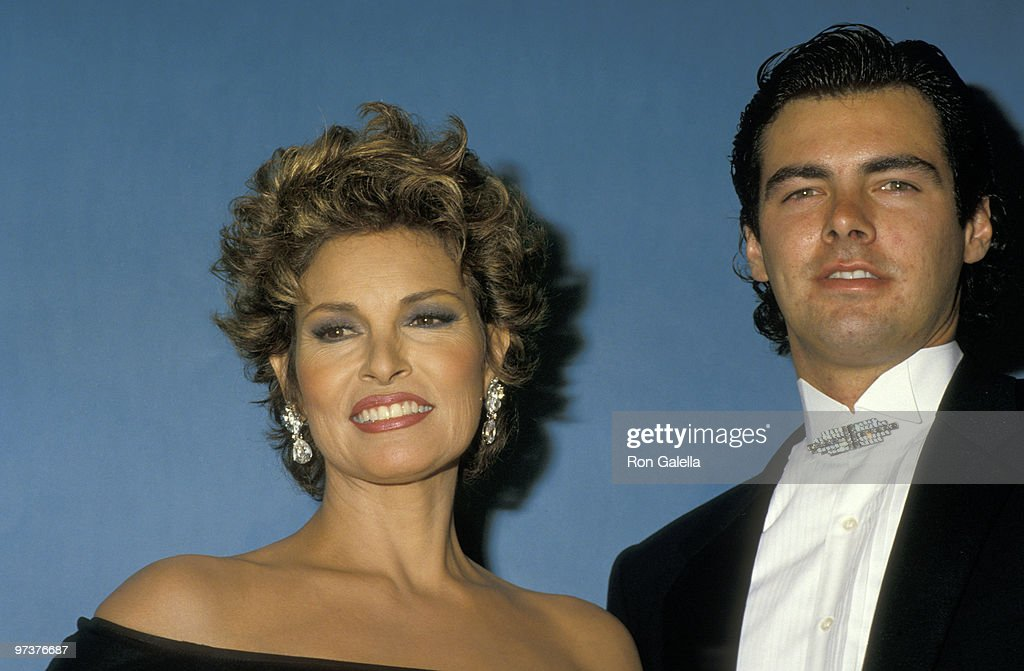 Raquel Welch and Son Damon Welch