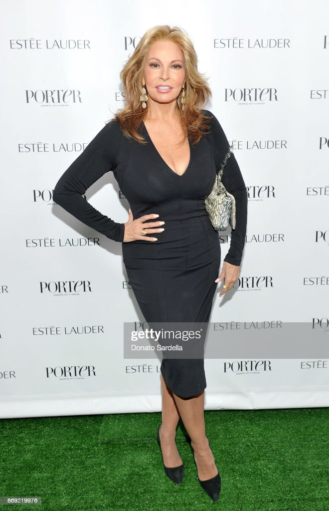 Raquel Welch at PORTER Hosts Incredible Women Gala In Association With Estee Lauder at NeueHouse Los Angeles on November 1, 2017 in Hollywood, California.