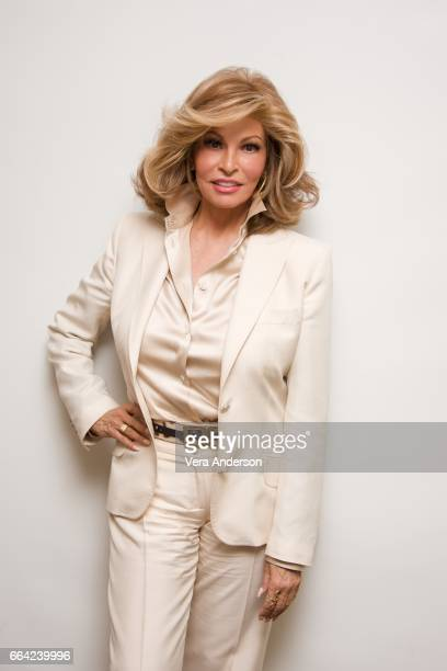 Raquel Welch at the 'How to Be a Latin Lover' Press Conference at the Four Seasons Hotel on April 1 2017 in Beverly Hills California