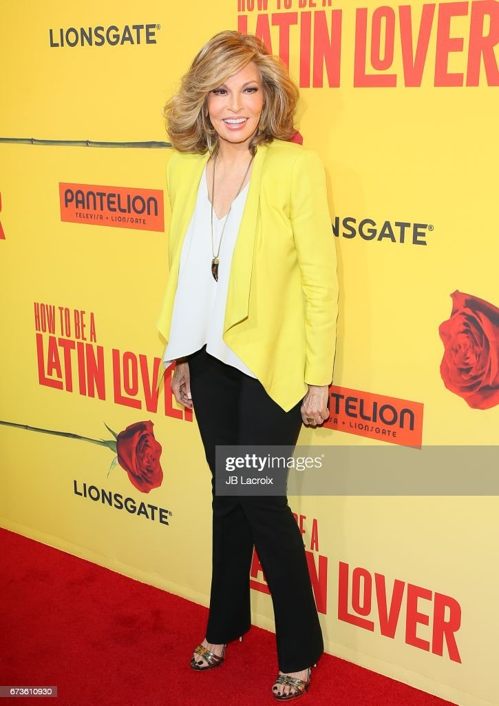 Raquel Welch attends the premiere of Pantelion Films' 'How To Be A Latin Lover' attends on April 26, 2017 in Hollywood, California.