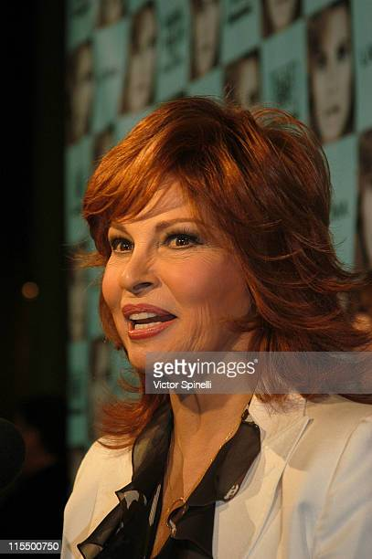 Raquel Welch during Opening of the Raquel Welch Film Festival at Los Angeles County Museum of Art in Los Angeles California United States