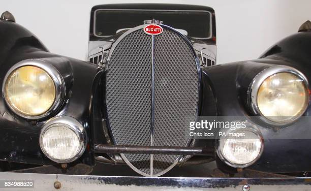 A rare 1937 Bugatti Type 57S which will go to auction at Bonhams' Retromobile sale in Paris on 7th February with an estimated guide price of 275 4...