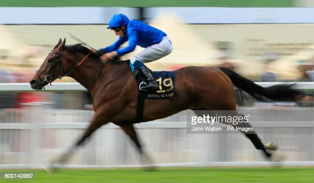 Rare Rhythm ridden by Jockey William Buick wins The Duek of Edinburgh Stakes during day four of Royal Ascot at Ascot Racecourse