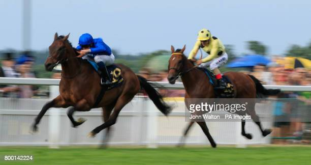 Rare Rhythm ridden by Jockey William Buick wins The Duke of Edinburgh Stakes during day four of Royal Ascot at Ascot Racecourse