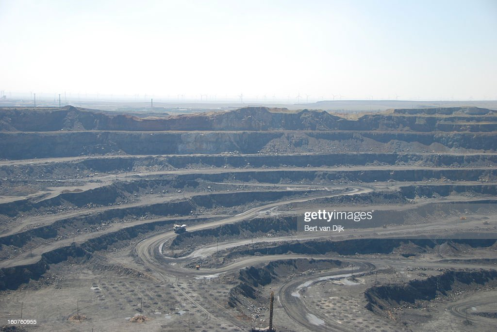CONTENT] Rare-earth mine in Baiyun'ebo or Bayan Obo. Baiyun'ebo or Bayan Obo is a mining town in Inner Mongolia in China. The mines north of town are one the largest deposits of rare earth metals found in the world.