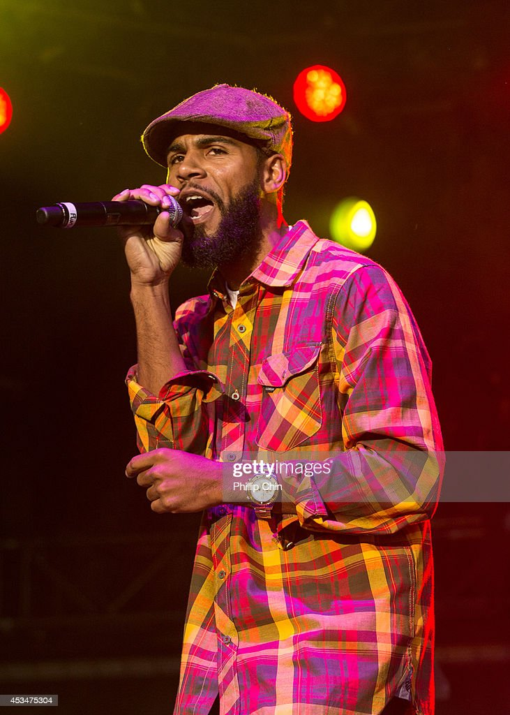 Ras Puma of Thievery Corporation performs at the Squamish Valley Music Festival on August 10, 2014 in Squamish, Canada.
