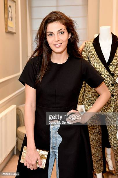 Rasan Jamal attends a cocktail reception hosted by RACIL And MATCHESFASHIONCOM to celebrate the launch of Racil AW16 Collection on September 7 2016...