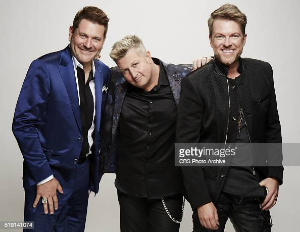 Rascal Flatts stops by the CBS Photo Booth during the 51st ACADEMY OF COUNTRY MUSIC AWARDS cohosted by Luke Bryan and Dierks Bentley from the MGM...