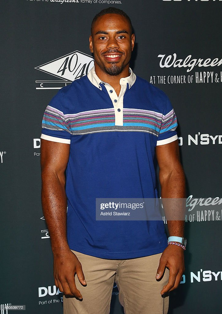 Rashad Andre Jennings attends the Go N'Syde 40/40 Bottle Launch Party at the 40 / 40 Club on June 12, 2014 in New York City.
