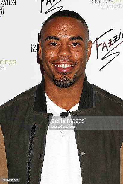 Rashad Jennings attends 2015 Giant Night Of Comedy at Gotham Comedy Club on November 30 2015 in New York City