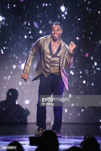 Rashad Jennings performs at the Dancing With The Stars Hot Summer Nights Tour at Caesars Atlantic City on June 17 2017 in Atlantic City New Jersey