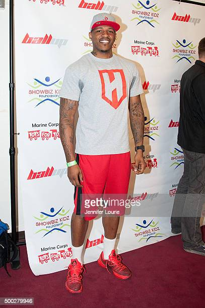 Rashad McCants arrives at the Marines Toys for Tots Celebrity Basketball Game/Toy Drive Fundraiser Presented By ShowBiz Kidz Foundation on December 6...