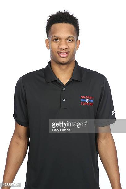 Rashad Vaughn poses for a headshot during the 2015 NBA Draft Combine on May 16 2015 at Northwestern Memorial Hospital in Chicago Illinois NOTE TO...