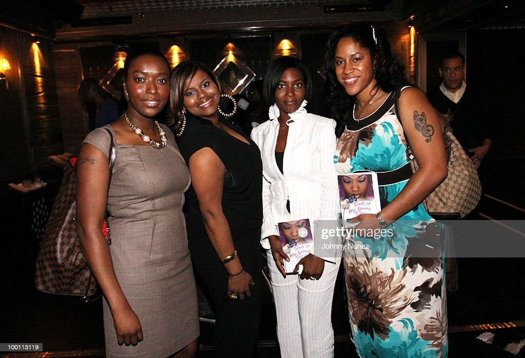 Rashana Hooks, Syreta Oglesby, Nicole Paultre-Bell, and Kim Cooper attend a press reception for 'Souls of My Young Sisters' at Covet on May 20, 2010 in New York City.