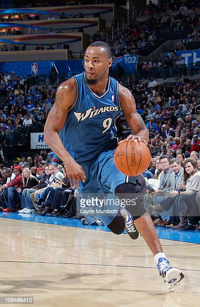 Rashard Lewis of the Washington Wizards drives to the basket against the Oklahoma City Thunder during the game on January 28 2011 at the Ford Center...