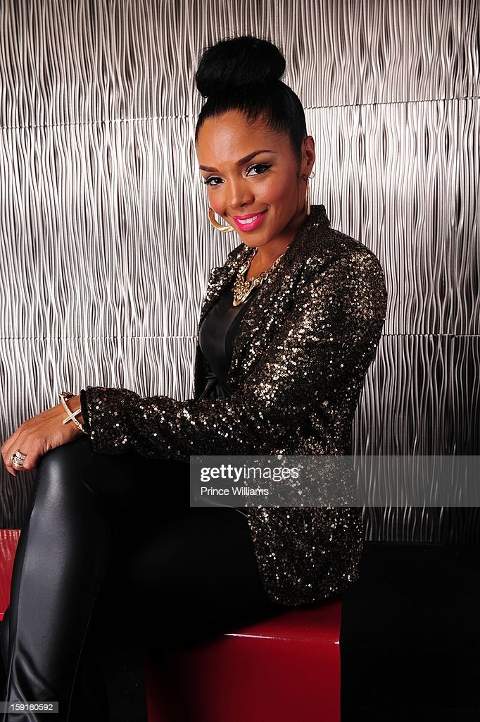 Rasheeda attends the birthday celebration of Mimi Faust at Halo Lounge on January 9, 2013 in Atlanta, Georgia.