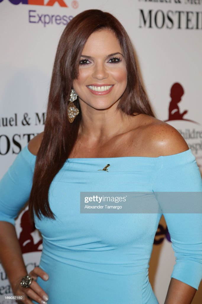 Rashel Diaz attends the 11th annual FedEx/St. Jude Angels & Stars Gala at JW Marriott Marquis on May 18, 2013 in Miami, Florida.