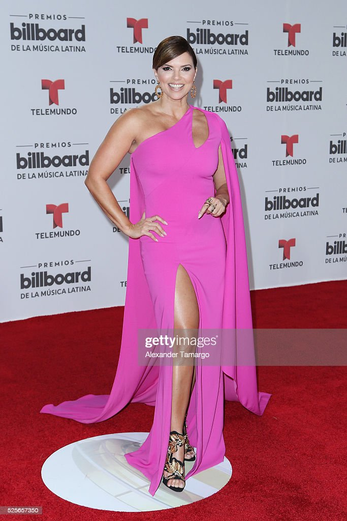 Rashel Diaz attends the Billboard Latin Music Awards at Bank United Center on April 28, 2016 in Miami, Florida.