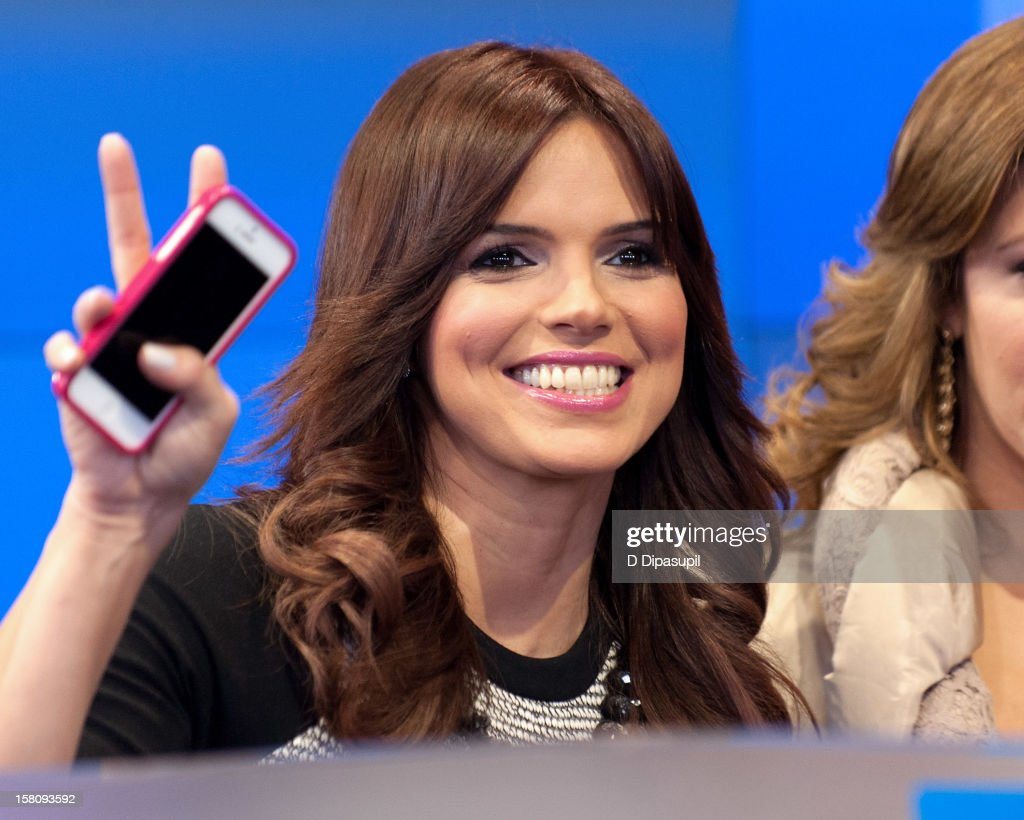 Rashel Diaz attends the NASDAQ Opening Bell Ceremony celebrating Telemundo Media's new brand campaign at NASDAQ MarketSite on December 10, 2012 in New York City.