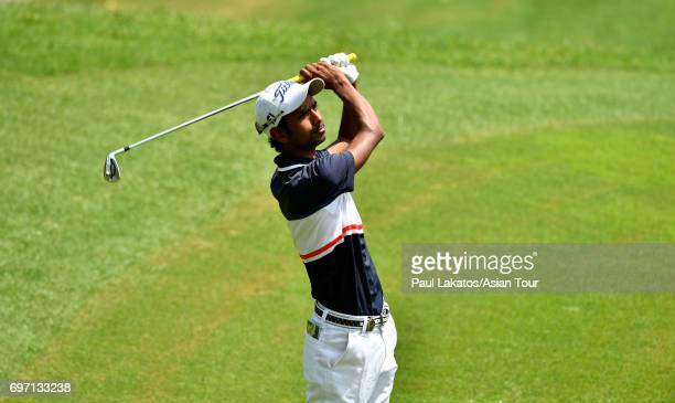 Rashid Khan of India during round four of the Queen's Cup at Santiburi Samui Country Club on June 18 2017 in Bangkok Thailand