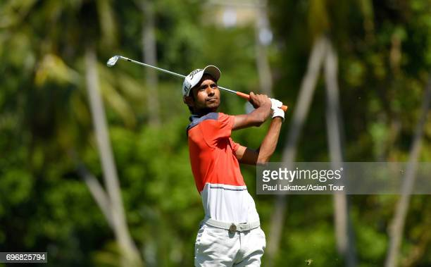 Rashid Khan of India during round three of the Queen's Cup at Santiburi Samui Country Club on June 17 2017 in Bangkok Thailand