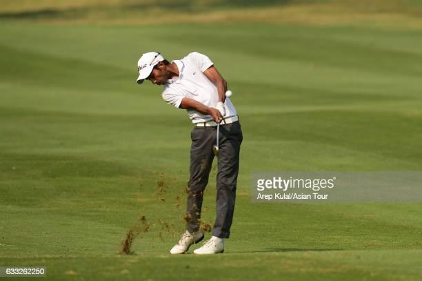 Rashid Khan of India picture during round one of the Bashundhara Bangladesh Open at Kurmitola Golf Club on February 1 2017 in Dhaka Bangladesh