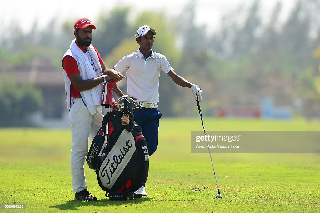 Rashid Khan of India pictured during round three of the Leopalace21 Myanmar Open at Royal Mingalardon Golf and Country Club on February 6, 2016 in Yangon, Myanmar.