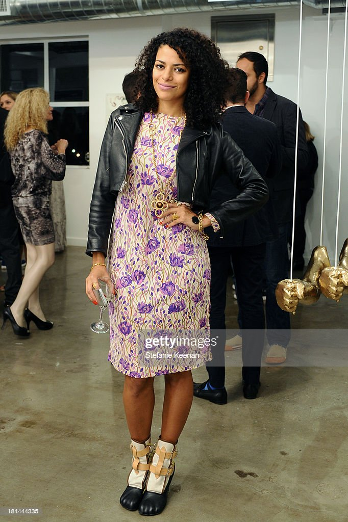 DJ Rashida attends The Mistake Room's Benefit Auction on October 13, 2013 in Los Angeles, California.