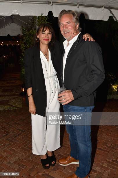 Rashida Jones and Don Johnson attend Apollo in the Hamptons at The Creeks on August 12 2017 in East Hampton New York