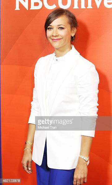 Rashida Jones arrives at NBCUniversal's 2014 Summer TCA Tour Day 1 held at The Beverly Hilton Hotel on July 13 2014 in Beverly Hills California